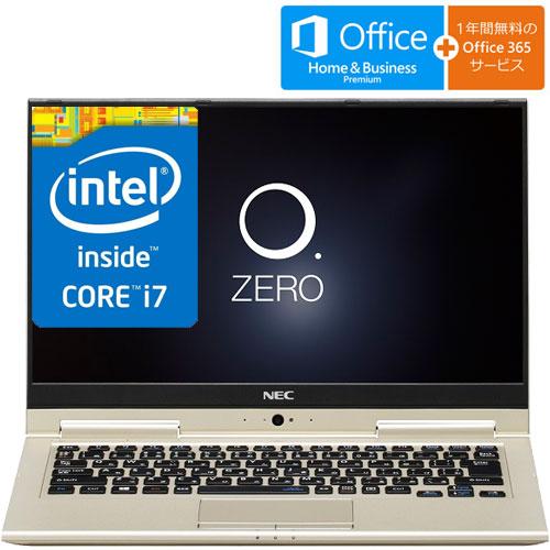 NEC PC-SN276W1AA-2 [LAVIE Smart HZ(Core i7-7500U 8GB SSD128GB 13.3FHD/IGZOタッチパネル H&B GD)]