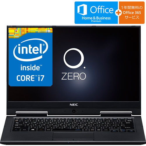 NEC PC-SN276U1AA-2 [LAVIE Smart HZ(Core i7-7500U 8GB SSD128GB 13.3FHD/IGZOタッチパネル H&B BK)]