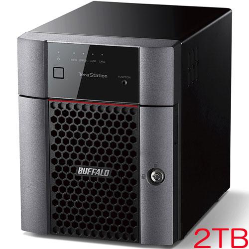 TeraStation TS3410DN TS3410DN0204 [小規模オフィス・SOHO向け 4ドライブNAS 2TB]
