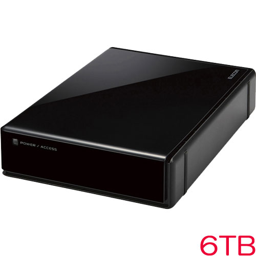 エレコム ELD-REN060UBK [3.5インチ外付HDD/WD Red/USB3.0/6TB/法人用]
