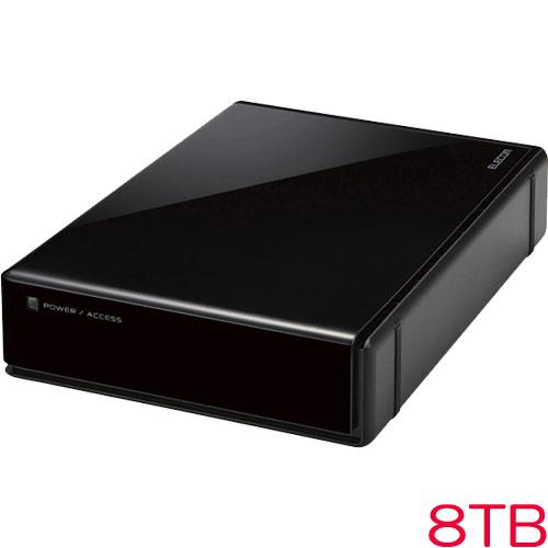 エレコム ELD-REN080UBK [3.5インチ外付HDD/WD Red/USB3.0/8TB/法人用]