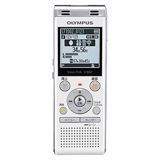オリンパス V-862 WHT [Voice Trek V-862 ホワイト]