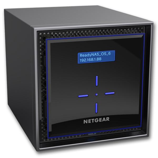 NETGEAR ReadyNAS424 RN424E4-100AJS [ReadyNAS 424 4ベイデスクトップ 16TBモデル]