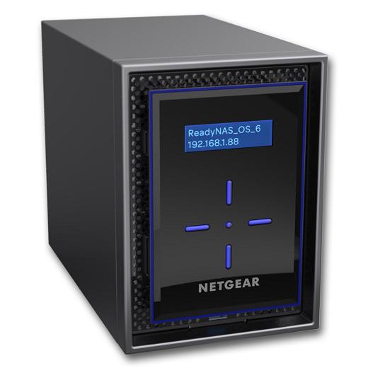 NETGEAR ReadyNAS422 RN422E4-100AJS [ReadyNAS 422 2ベイデスクトップ 8TBモデル]
