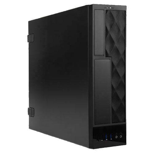 IN-WIN IW-CE685/300P [Micro-ATX スリムタワーケース CE685 ブラック 300W 80PLUS PLATINUM電源搭載]