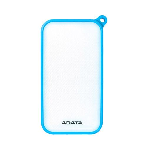 ADATA AD8000L-5V-CBL [LED照明付き IP54防塵/防水 モバイルバッテリ Power Bank D8000L 8000mAh ブルー]