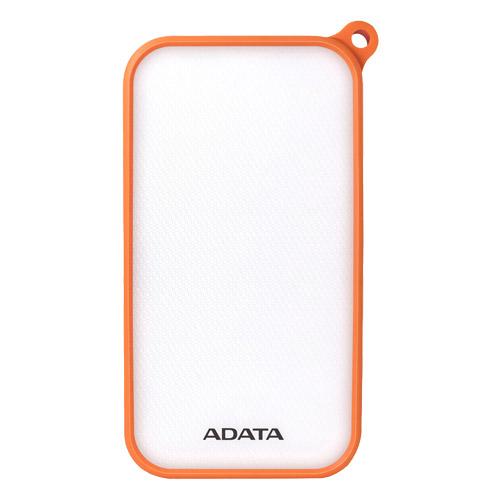 ADATA AD8000L-5V-COR [LED照明付き IP54防塵/防水 モバイルバッテリ Power Bank D8000L 8000mAh オレンジ]