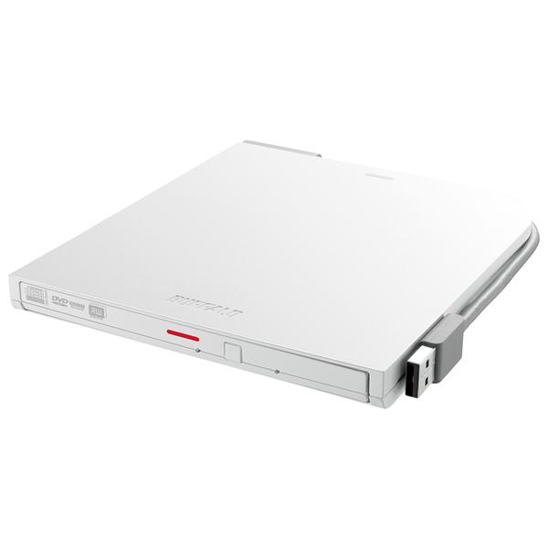 DVSM-PT58U2V-WHD [USB2.0ポータブルDVDドライブ Surface対応 ホワイト]