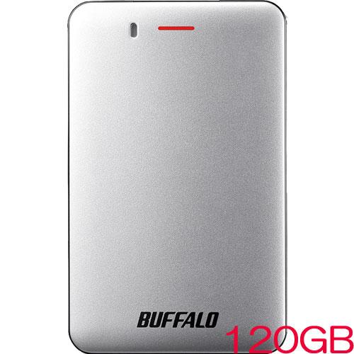 SSD-PM120U3A-S [USB3.1(Gen1) 小型ポータブルSSD 120GB シルバー]