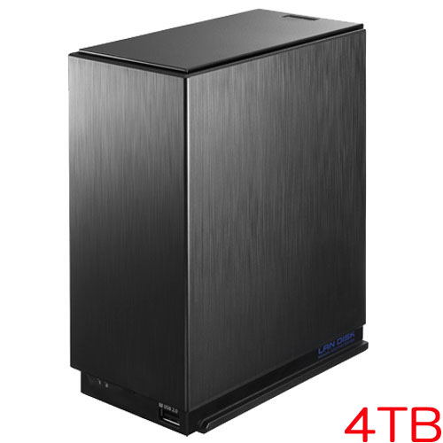 アイオーデータ HDL2-AA4/E [デュアルコアCPU搭載 NAS(ネットワークHDD) 4TB 3年保証]