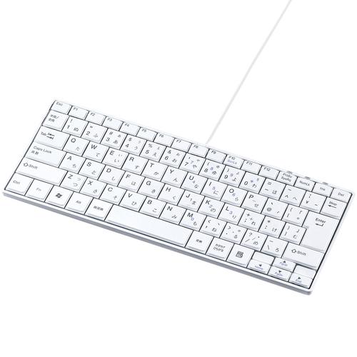 サンワサプライ SKB-SL18WN [USBスリムキーボード(ホワイト)]