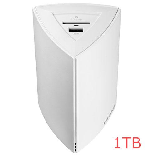 アイオーデータ HLS-PG1 [ネットワーク接続ハードディスク(NAS)「Fotogenic(フォトジェニック)」 1TB]