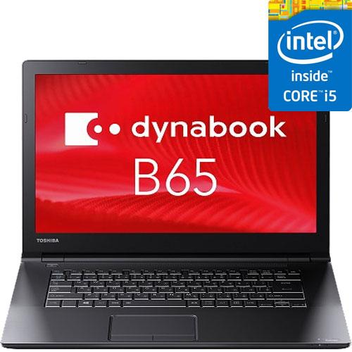 東芝 PB65AECADNCAD81 [dynabook B65/B(i5-6200U 4GBx2 256GBSSD DSM 15.6 Win7Pro(W10PDG))]