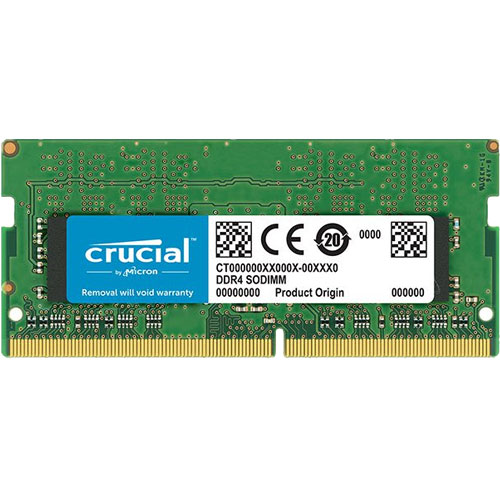 クルーシャル CT16G4SFD8266 [16GB DDR4 2666 MT/s (PC4-21300) CL19 DR x8 Unbuffered SODIMM 260pin]