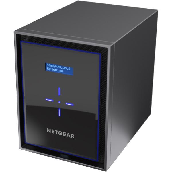NETGEAR ReadyNAS426 RN426E4-100AJS [ReadyNAS 426 6ベイデスクトップ 24TBモデル]