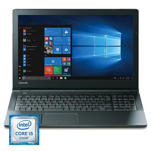 東芝 PB55BEAD4NAADC1 [dynabook B55/B (i5-6200U 4GB 500GB DSM 15.6 Win10H64)]