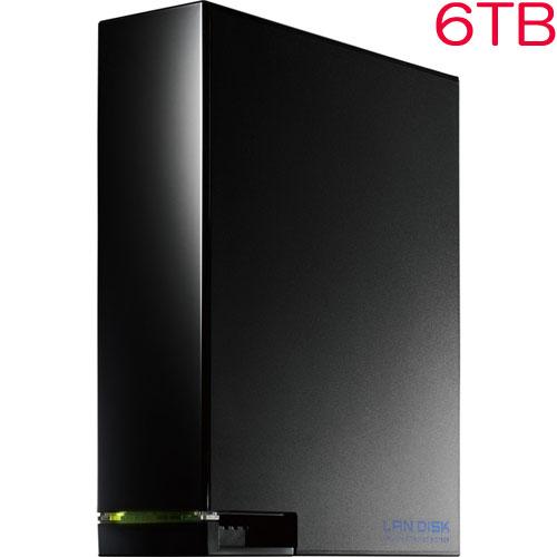 アイオーデータ HDL-AAW HDL-AA6W [デュアルコアCPU搭載 1ドライブ高速ビジネスNAS 6TB]