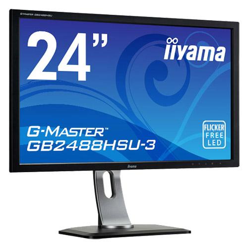 イーヤマ G-MASTER GB2488HSU-B3 [24型ワイド液晶ディスプレイ GB2488HSU-3 ブラック]