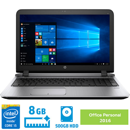 HP Compaq 2RA53PA#ABJ [450G3 i5-6200U/15H/8.0/500m/W10P/O2K16]
