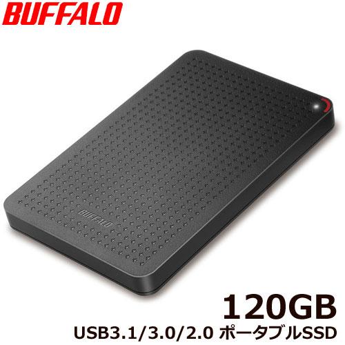 SSD-PL120U3-BK/N [USB3.1(Gen1) 小型ポータブルSSD 120GB ブラック]
