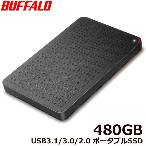 SSD-PL480U3-BK/N [USB3.1(Gen1) 小型ポータブルSSD 480GB ブラック]