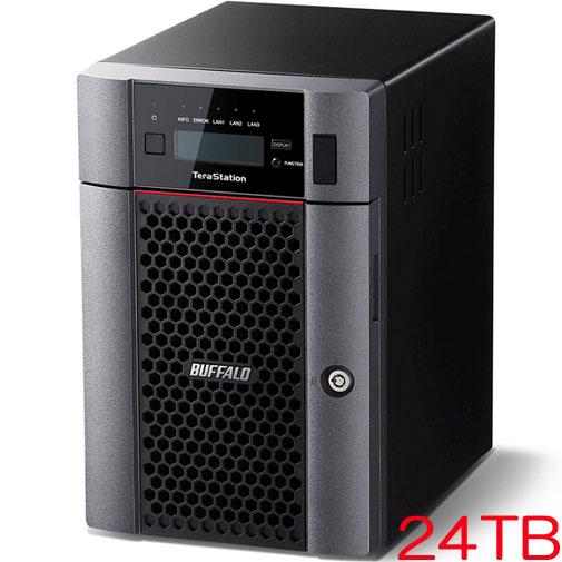 バッファロー TeraStation TS5610DN TS5610DN2406 [10GbE標準搭載 6ドライブNAS 24TB]