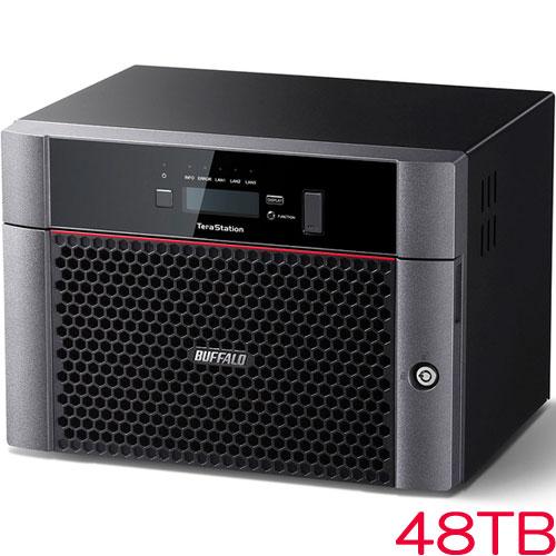 バッファロー TeraStation TS5610DN TS5810DN4808 [10GbE標準搭載 8ドライブNAS 48TB]