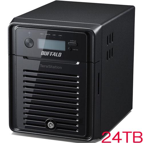 バッファロー TeraStation WSS WS5400DN24W6 [WSS2016 WE搭載 4ベイNAS 24TB]