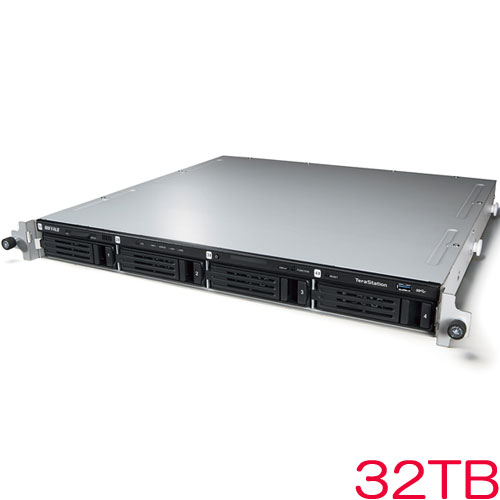 TeraStation WSS WS5400RN32S6 [WSS2016 SE搭載 4ベイNAS ラックマウント 32TB]