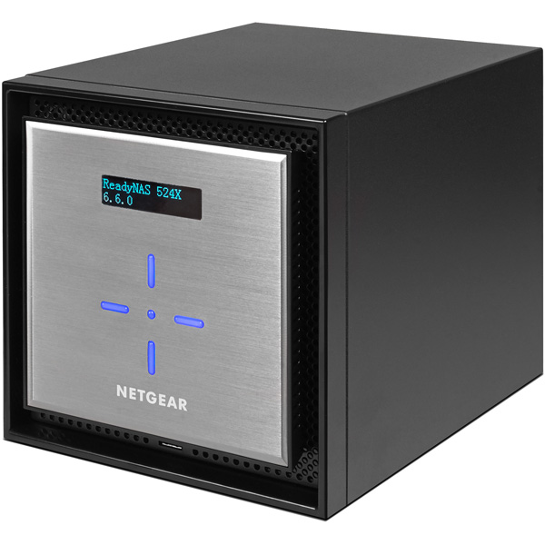 NETGEAR RN524XE4-100AJS [ReadyNAS 524X 4ベイ デスクトップ型(4TB×4)]