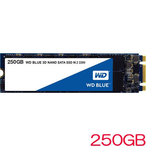WDS250G2B0B [WD Blue 3D NAND SATA SSD(250GB M.2(2280) SATA 6G 5年保証)]