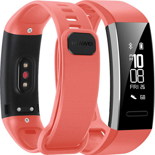 HUAWEI Band 2 Pro/Red_画像0