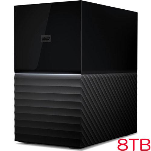 ウエスタンデジタル My Book Duo WDBFBE0080JBK-JESN [大容量デスクトップRAIDストレージ 8TB]