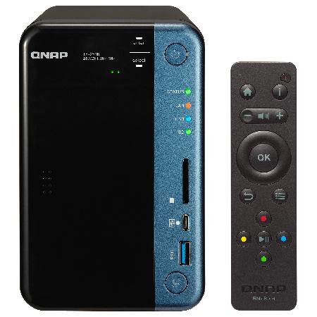 QNAP QNAP NAS T253B2MD80 [TS-253B 16TB (ミドル  8TB x 2)]