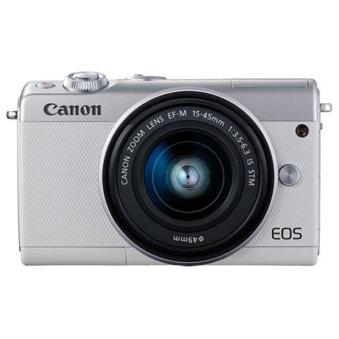 EOS M100(ホワイト) EF-M15-45 IS STM レンズキット