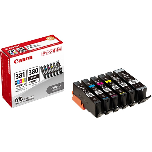 BCI-381s+380s/6MP [インクタンク 2344C004]