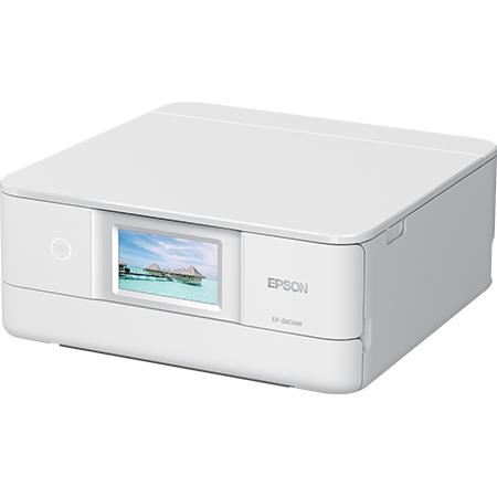 エプソン Colorio EP-880AW [A4IJプリンター/多機能/Wi-Fi/4.3W/ホワイト]