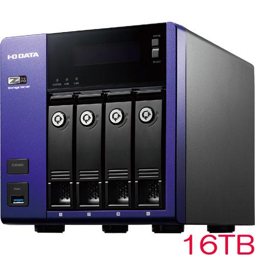 アイオーデータ HDL-Z4WPD HDL-Z4WP16D [WSS2016 Std/Celeron搭載 4ドライブNAS 16TB]
