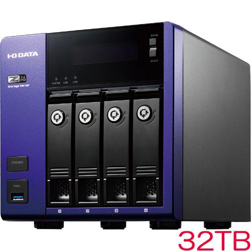 アイオーデータ HDL-Z4WPD HDL-Z4WP32D [WSS2016 Std/Celeron搭載 4ドライブNAS 32TB]