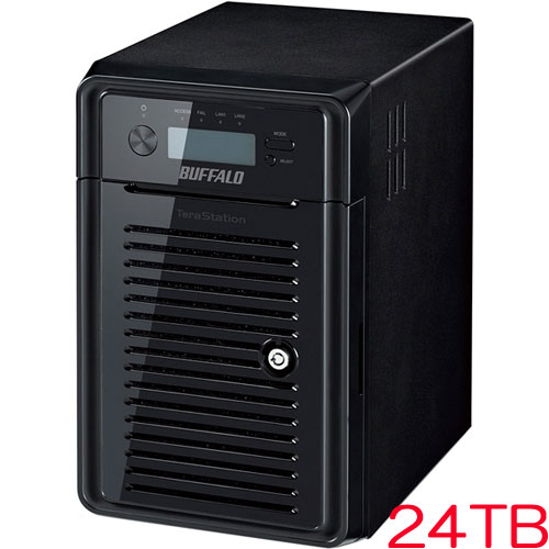 TeraStation WSS HR WSH5610DN24S6 [WSS2016搭載NAS 24TB]