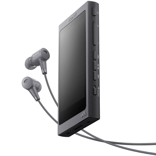 ソニー(SONY) WALKMAN A NW-A45HN/B [ウォークマン Aシリーズ 16GB グレイッシュブラック+ヘッドホン]
