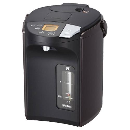 タイガー魔法瓶 とく子さん PIS-A220T [蒸気レスVE電気まほうびん 2.15L ブラウン]