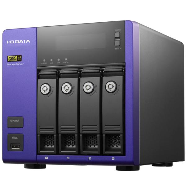 HDL-Z4WPI HDL-Z4WPS4I [WSS2016 Std/Core i3 4ドライブNAS 4TB(SSD)]