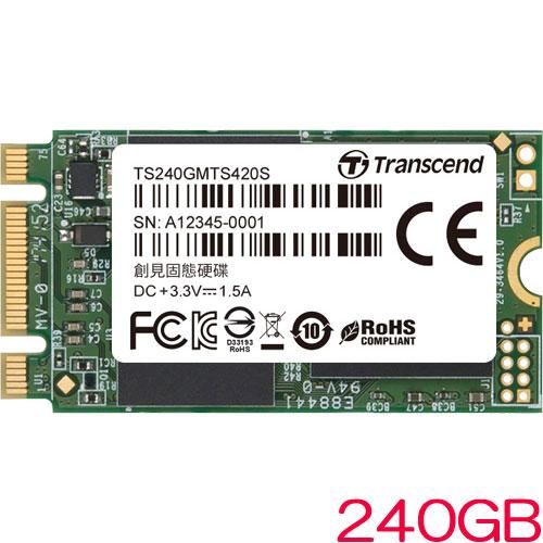 TS240GMTS420S [240GB SSD MTS420S M.2 Type 2242 SATA-III 6Gb/s 3D TLC NAND]