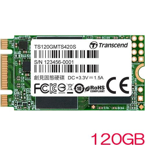 TS120GMTS420S [120GB SSD MTS420S M.2 Type 2242 SATA-III 6Gb/s 3D TLC NAND]