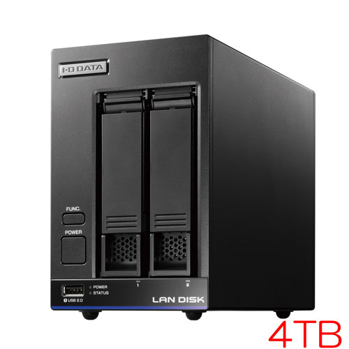 HDL2-X/TM HDL2-X4/TM5 [TM NAS Security 2ドライブNAS 4TB ライセンス5年]