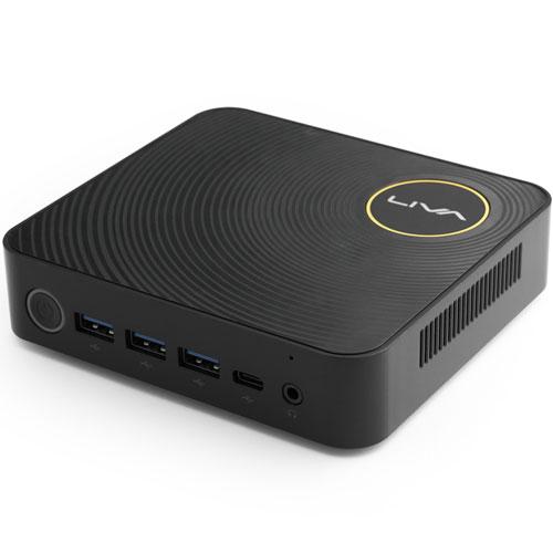 ECS LIVAZ-4/32-W10Pro(N3450) [小型PC Celeron N3450/4GB/eMMC 32GB/2×Giga LAN/11ac/Win 10 Pro 64bit]