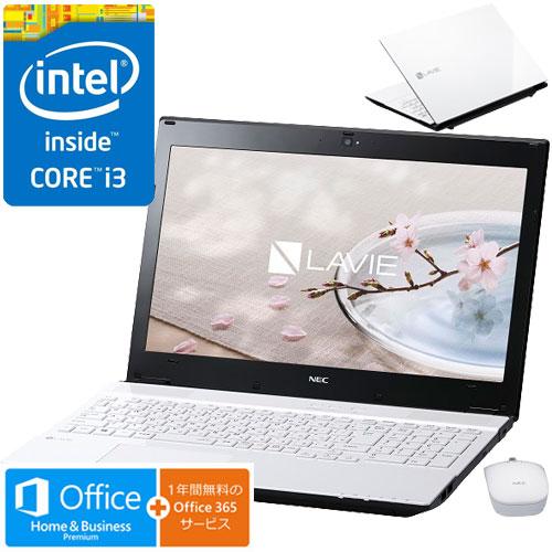 NEC PC-SN242FSAA-2 [LAVIE Smart NS(S)(Core i3 4GB 500GB DSM BTM H&B WH)]