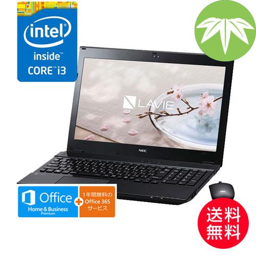 NEC PC-SN242GSAA-2 [LAVIE Smart NS(S)(Core i3 4GB 500GB DSM BTM H&B BK)]