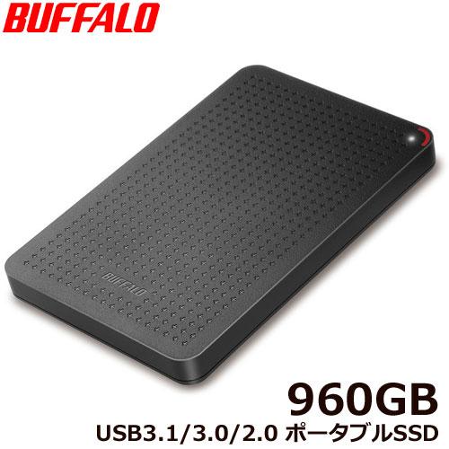 SSD-PL960U3-BK/N [USB3.1(Gen1) 小型ポータブルSSD 960GB ブラック]